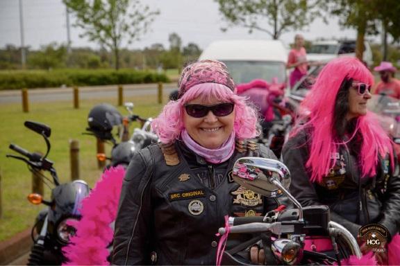 Amanda Siebert at the Pink Ribbon Ride 2017.