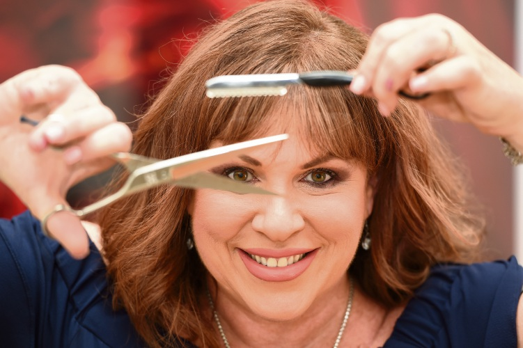 Aoki Hair owner Jenni Spence is celebrating 15 years of the business being open. Picture: Jon Hewson d487800
