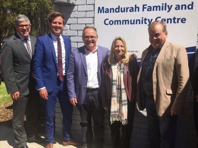 Mandurah's new family and community centre opens