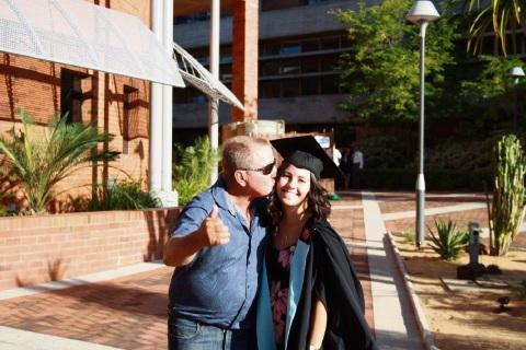 Father inspires Falcon resident to Stride4Stroke in November