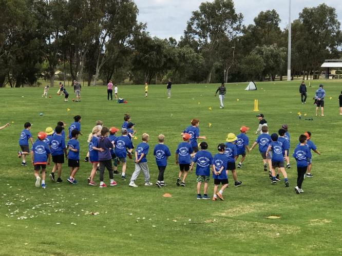 Quinns Rocks Junior Cricket Club launched its summer season on Saturday.