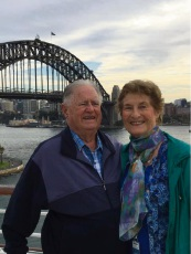 Reg and Fay Lester have celebrated a major milestone together.