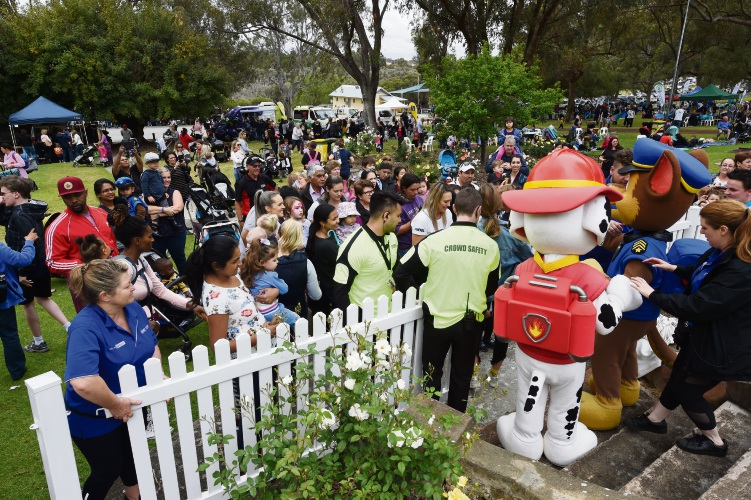 PAW Patrol were guests of honour at the City of Cockburn's Teddy Bears Picnic.