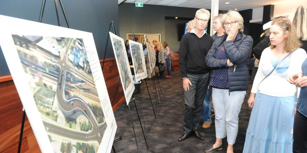 Residents were concerned when they saw concepts for designs for a new bridge at Congdon Street in Swanbourne. Picture: Jon Bassett.