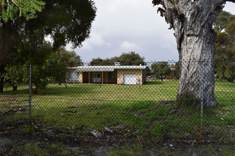 The former kindergarten site on Brand Place in Morley. Picture: Kristie Lim