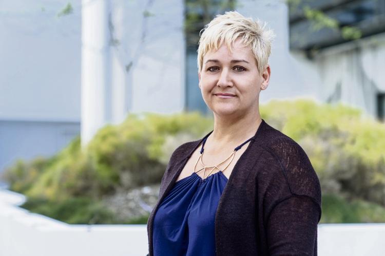 Katherine Houareau is an ambassador for Lifeline WA's Lights for Lifeline campaign.