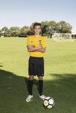 South Coast Baptist College student plays for WA Football West State Team