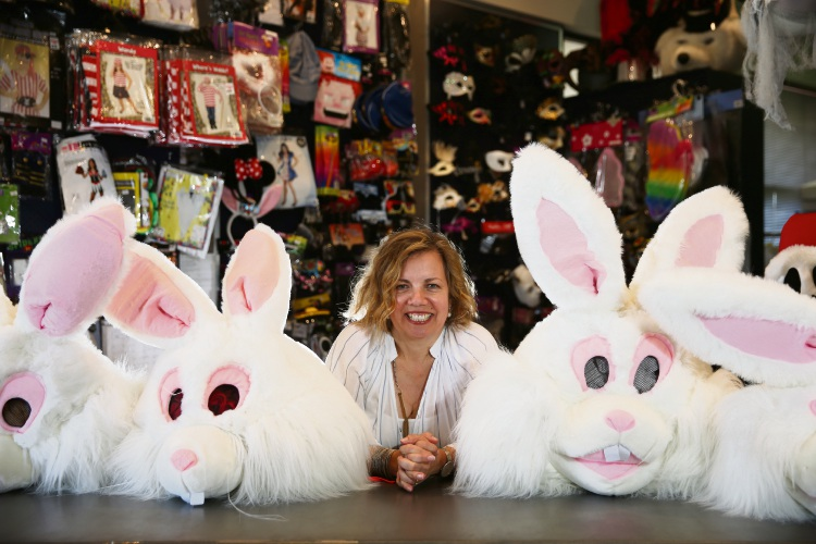 Lisa Gunning is closing her Costume Studio in Wembley. Picture: Andrew Ritchie www.communitypix.com.au   d488174f
