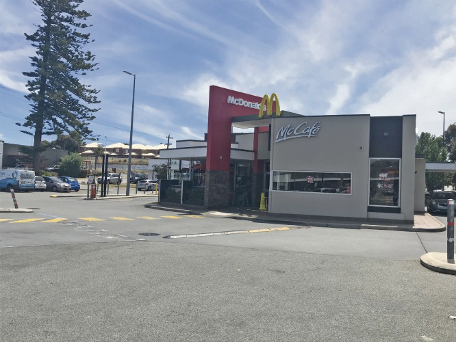 Maylands: Police charge man for allegedly breaching lifetime McDonald's ban