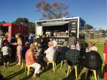 Dine on Dalmain returns to the Kingsley primary school.
