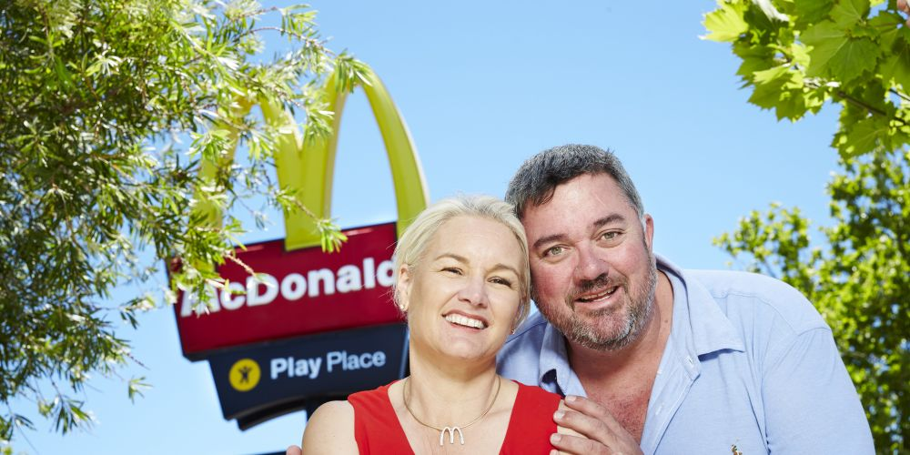 Annie and Richard Hill met as teenagers when they worked together at McDonald's. They are still together and licensees of five McDonald's in WA.