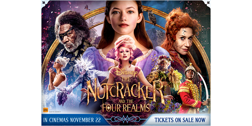 Win tickets to The Nutcracker and the Four Realms