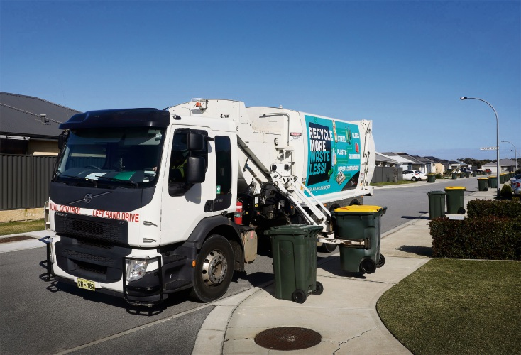 More than 10 per cent of recycling in the City of Swan is contaminated.
