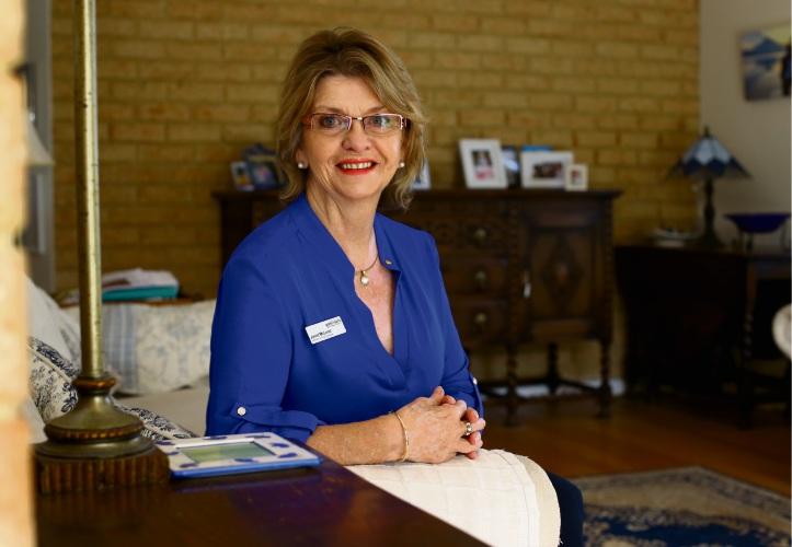 Pakrinson's WA nurse specialist Janet McLeod. Picture: Martin Kennealey.