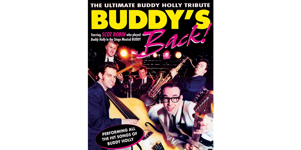 Win tickets to Buddy's Back: The Buddy Holly Show