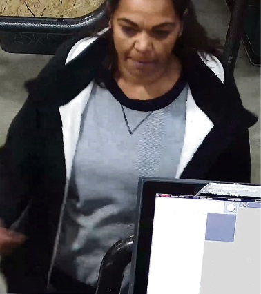 Police would like to speak with this woman.