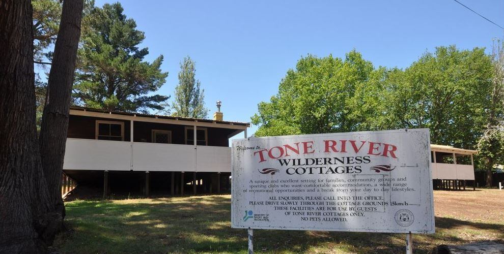 Tone River Wilderness Cottages.