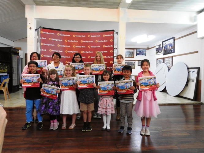 Budding young artists feature in community calendar
