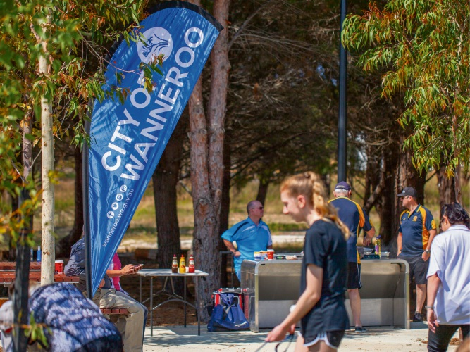 The City of Wanneroo promoted the 'Know Your Neighbour' initiative at a Yanchep event recently.