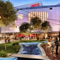 An artist's impression of Karrinyup Shopping Centre's western precinct.