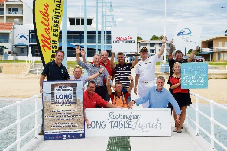 A promotional photo for this year's Rockingham Long Table Lunch.