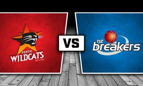 Perth Wildcats vs New Zealand Breakers