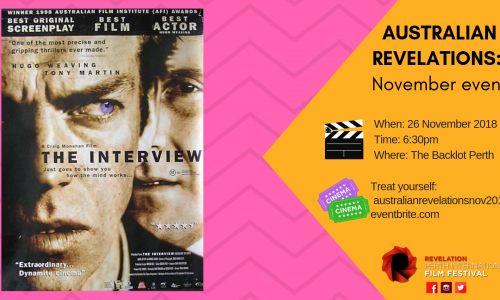 Australian Revelations: The Interview