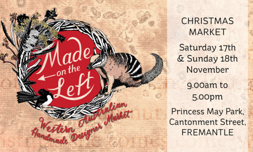 Made on the Left 2018 Christmas Market