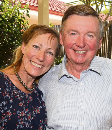 Malcolm McCusker with wife Tonya. Picture: Matt Jelonek d480544