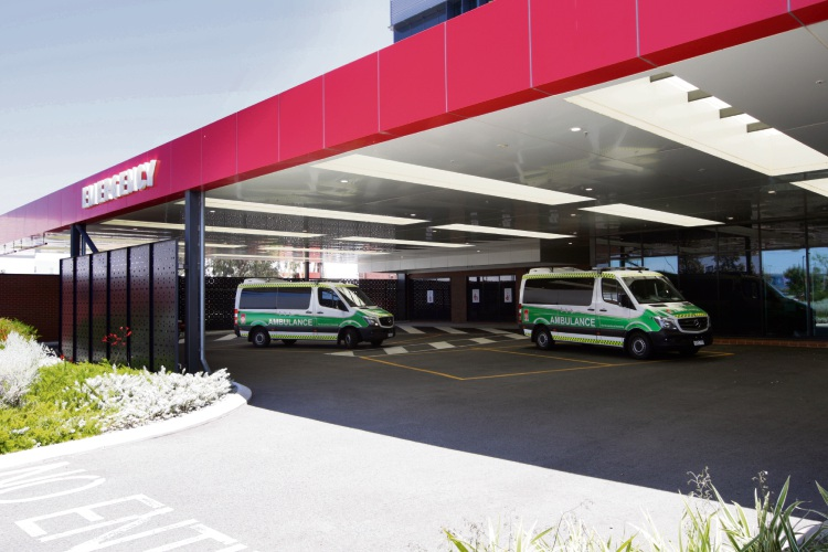 St John of God Midland Hospital. Picture: Bruce Hunt.