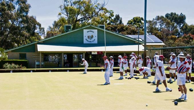 Warwick Bowling Club.