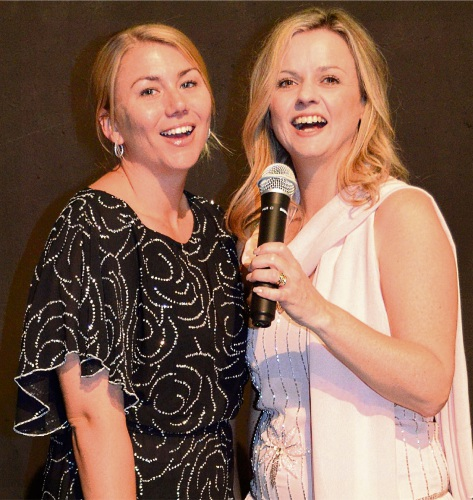 Craigie resident Naomi Cooper and Genevieve Newman are on song for The Envelope Please at Wanneroo's Limelight Theatre.