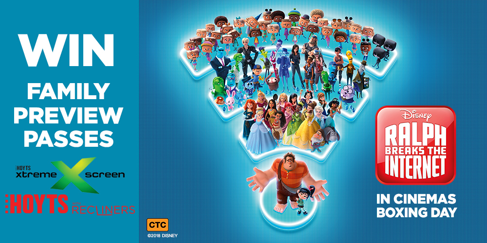 Win tickets to our exclusive screening of Disney's Ralph Breaks the Internet