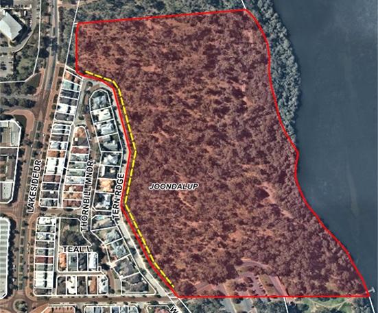 Fuel loads targeted in Joondalup bushfire risk area
