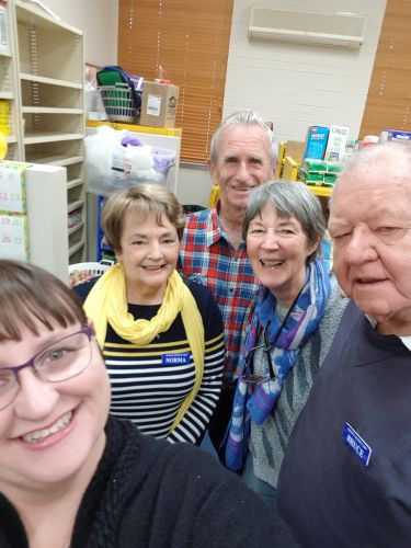 Kelly Powell's winning photo in the City of Rockingham's Selfie with a Senior competition.