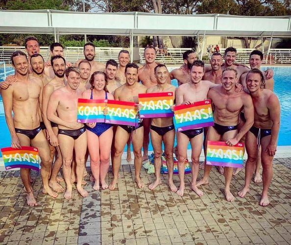 The Perth White Pointers will march in this Saturday's Pride parade. Photo: Supplied.