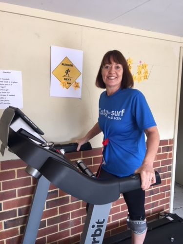 Jo Penkin has been living with MS for 30 years and is taking on her 10th marathon. Picture: Supplied.