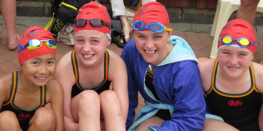 Swimmers from 13 primary schools compete at Wesley College