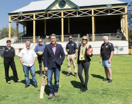 Jodie Neuzerling – Executive Officer Volunteer Fire & Rescue Services Association of WA, Armando De-Abreu – North Fremantle Cricket Association, Paul De Young, Projects Officer Buildings Facilities and Environment at City of Fremantle, Josh Wilson MHR Fremantle, Steve Tonge – President of the Fremantle Mosman Park Cricket club, Peter Grosser General Manager North Fremantle Amateur Football Club and Jess Warren  Asset and Property Officer, City of Fremantle.