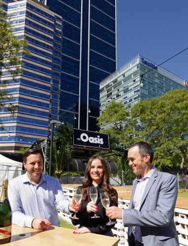 Oasis to pop-up at the Perth Convention Exhibition Centre