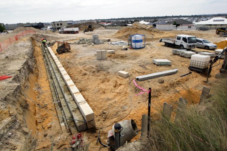 Site works started at the adjacent BP in October. d488157