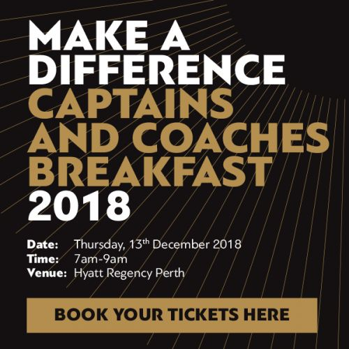 Make a Difference WA Captains and Coaches Breakfast