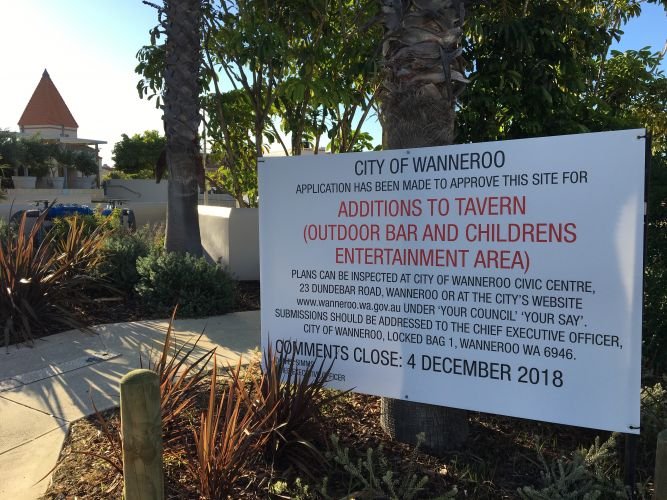Submissions are invited on plans to create an outdoor venue at Mindarie Marina.