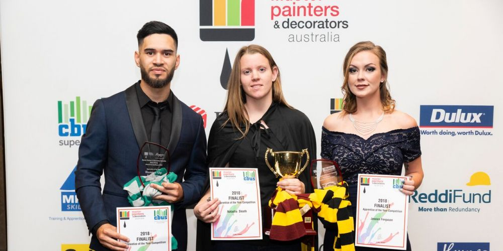 WA painters have brush with fame at 2018 Master Painters and Decorators Australia awards