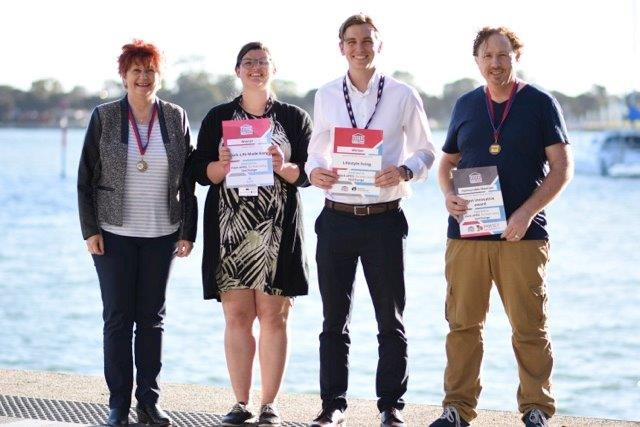 Team members Esther Anderson, Charlie Jones, Oliver Bazzani and Sean Jenkinson.