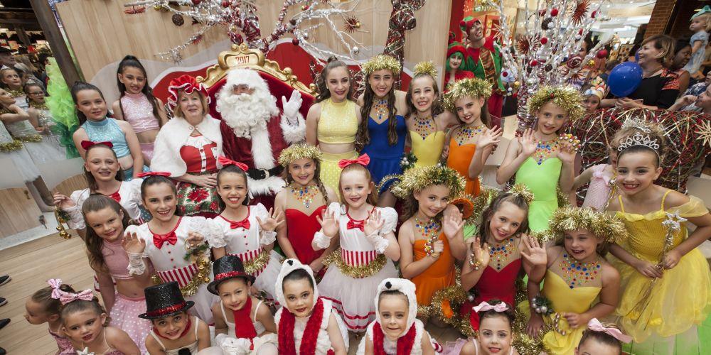 Santa will arrive at Ocean Keys Shopping Centre on Saturday.