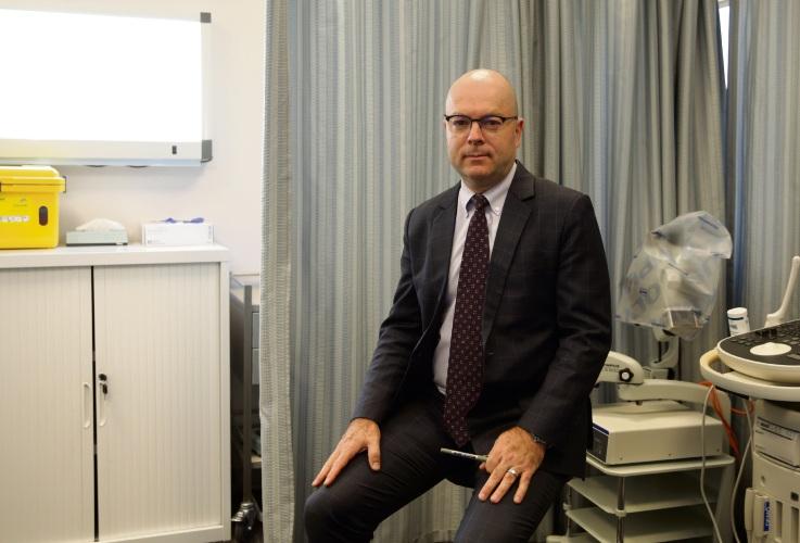 Orthopaedic surgeon Dr Johan Mostert. Photo: Martin Kennealey