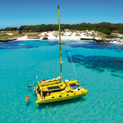 Charter 1s 'Capella' will be offering cruises off Rottnest Island from next month. Picture: Charter 1