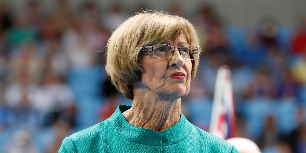 Margaret Court. Photo: AAP