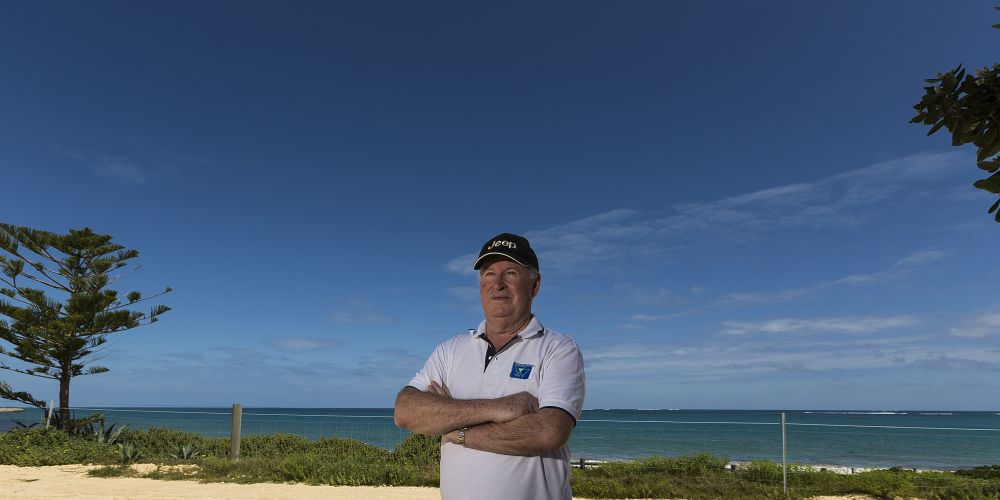 Doug Croker has reiterated concerns he raised a year ago about the lack of progress for the Quinns Rocks caravan park redevelopment.